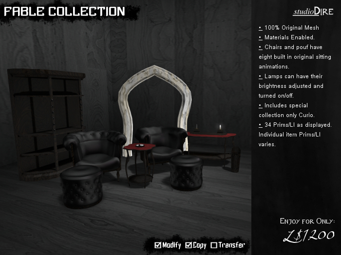 /studioDire/ Fable Collection