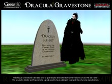 Gaagii - Dracula Gravestone
