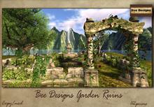.:Bee Designs:. Garden Ruins  -box