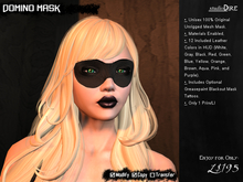 /studioDire/ Domino Mask