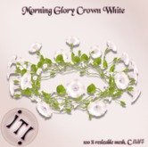!IT! - Morning Glory Crown White