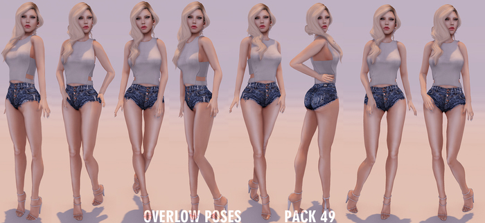 Overlow Poses - Pack 49