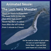 Animated Nessie: The Loch Ness Monster