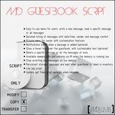 MD Guestbook Script