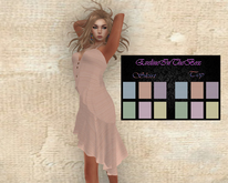 Backdrop Skirt and Top w/Hud in 6 Colors