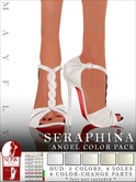 Mayfly - Seraphina Shoes (Angel Color Pack - Whites)