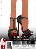 Mayfly - Seraphina Shoes (Noire Color Pack - Blacks & Grays)