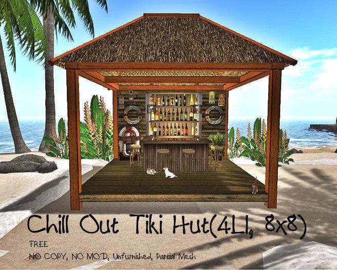 Chill Out Tiki Hut(4LI, 8x8)
