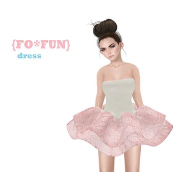 {FO*FUN} pastel mesh  dress old gift