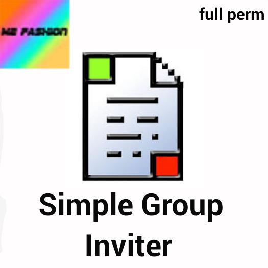 Simple Group Inviter script