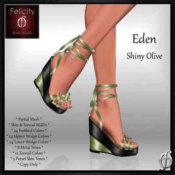 Eden Wedge Sandals