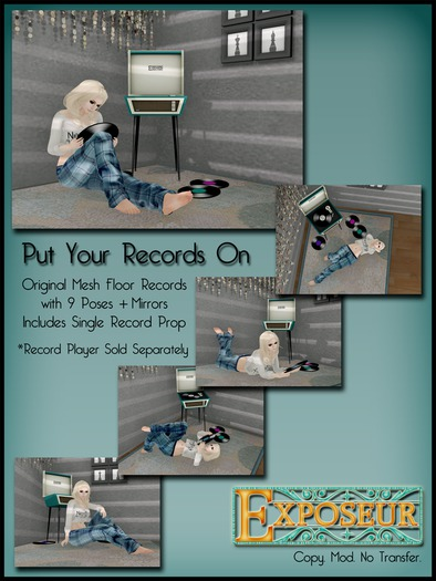 Exposeur - Put Your Records On