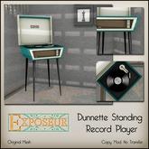 Exposeur - Dunnette Standing Record Player - Orange