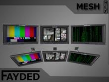 FAYDED - Wall-Mounted Monitors