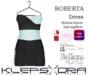 Klepsydra - Roberta Dress - (Appliers) - Blue