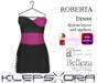 Klepsydra - Roberta Dress - (Appliers) - Plum