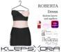 Klepsydra - Roberta Dress - (Appliers) - Peach