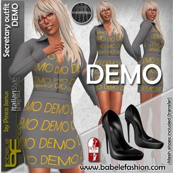 Babele Fashion :: Secretary Outfit Demo