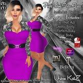 Purple Skull Dress