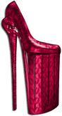 """B.I.P"" Lip Service High Heels (Pink)"
