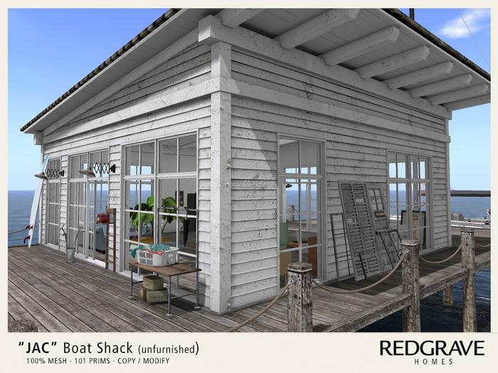 ** JAC Boat Shack - REDGRAVE - Unfurnished **