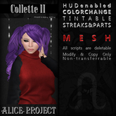 Alice Project - Collette II - Create Your Own