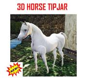 HORSE TIPJAR INCL. SOUND !