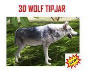 WOLF TIPJAR INCL. SOUND !