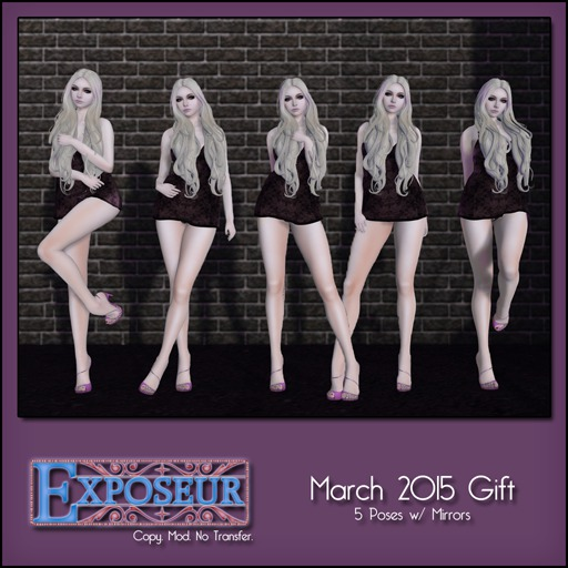 Exposeur - March 2015 Gift - Singles