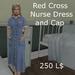 Red Cross Nurse dress  DEMOS