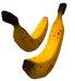 Banana fruit Sculpty 1 Prim Hyper Real V8 bananas
