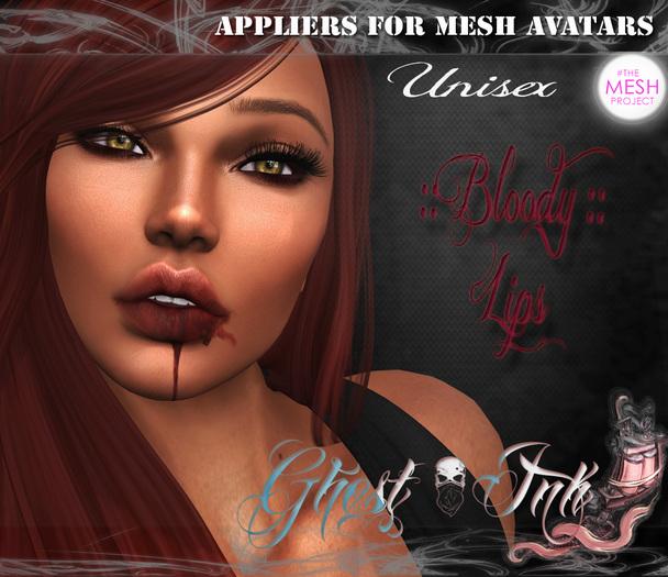 Ghost'Ink Applier ( TMP) :: Bloody Lips :: (2 Versions)