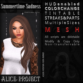 Alice Project - Summertime Sadness - Mini Medley Free Hairstyle
