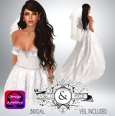 [LVSCO]BRIDAL GOWN-HER SPECIAL DAY DEMO
