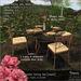 -Hanaya- Spring Garden Dining Set [mesh]
