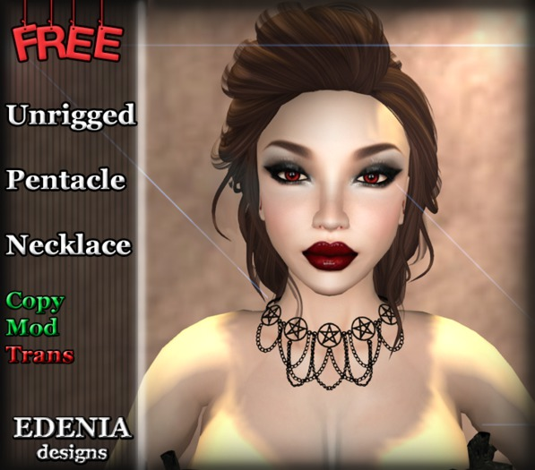 ~Edenia~ Free gift pentacle necklace