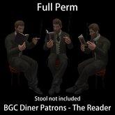 BGC Diner Patron - The Reader
