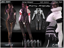 !formal bodysuit! Furry friendly -Shu Mesh-