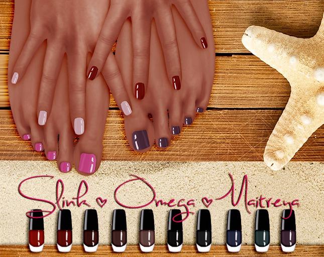 MAAI Slink Omega Maitreya HUD - hands & feet * night
