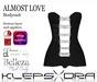 Klepsydra - Almost Love Bodysuit Black -Appliers