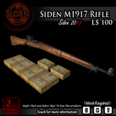 Siden M1917 Rifle (BOX) mp
