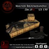 Mauser Broomhandle Pistol (BOX) mp