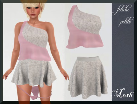 .::f  tiche petite::.Mesh Glitter Girly Skater Outfit