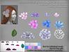 LDG-FULL PERM 969 Hydrangea Hair Accessories /10 parts/10 textures ver./Builderkit