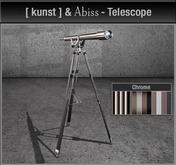 [ kunst ] & Abiss - Telescope / chrome