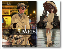 [CA] A PARIS FULL OUTFIT BEIGE