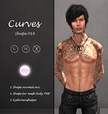 <Curves> - 018 Male Shape GIFT!