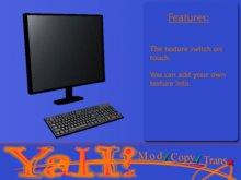 Computer + keyboard