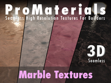 ProMaterials - 3D Marble Texture Set