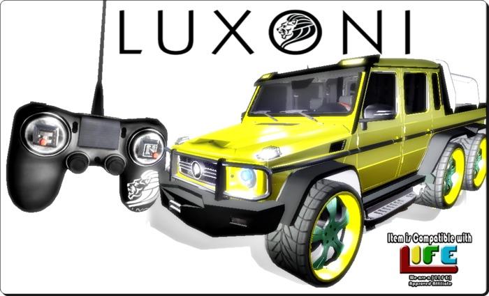 L U X O N I  MOTORS INC- G63LX RC CAR